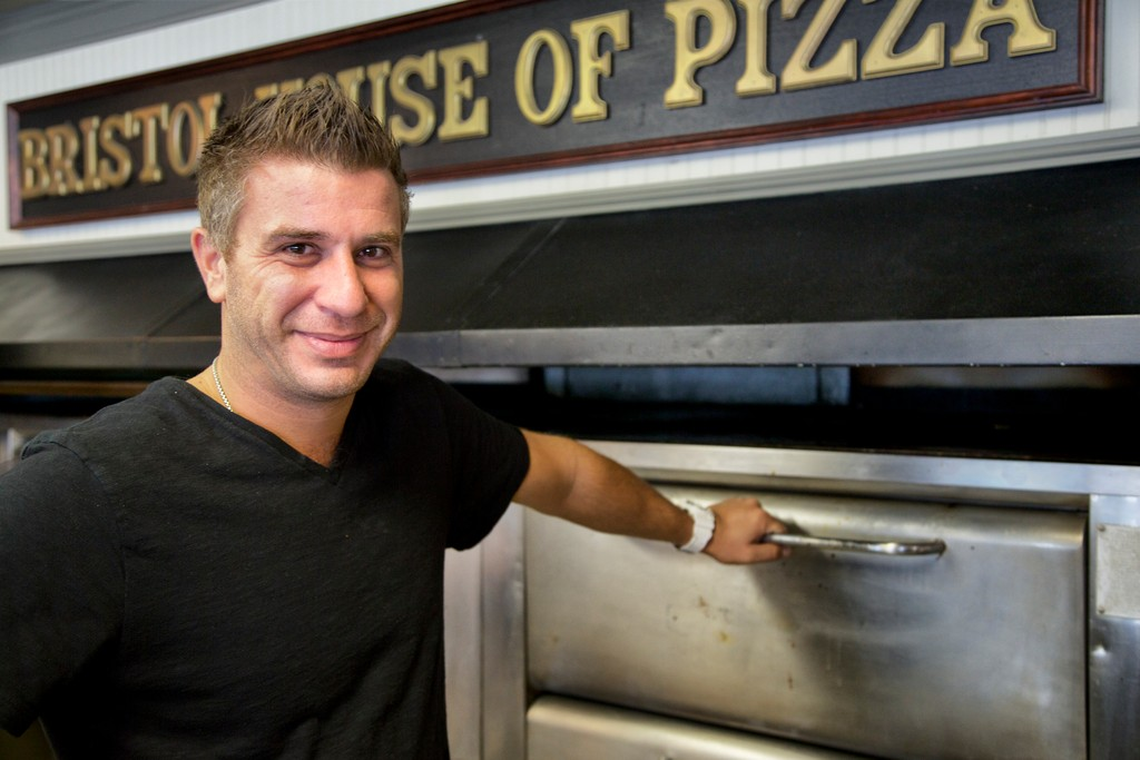 Greg Gatos at Bristol House of Pizza