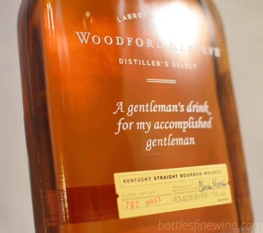 A wonderfully sophisticated way to show them you care, with an engraved bottle of Woodford Reserve Bourbon. Order now!