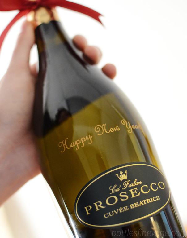 Order ahead and give a custom engraved bottle of sparkling wine for New Years. A perfect gift to give and celebrate. Order now!