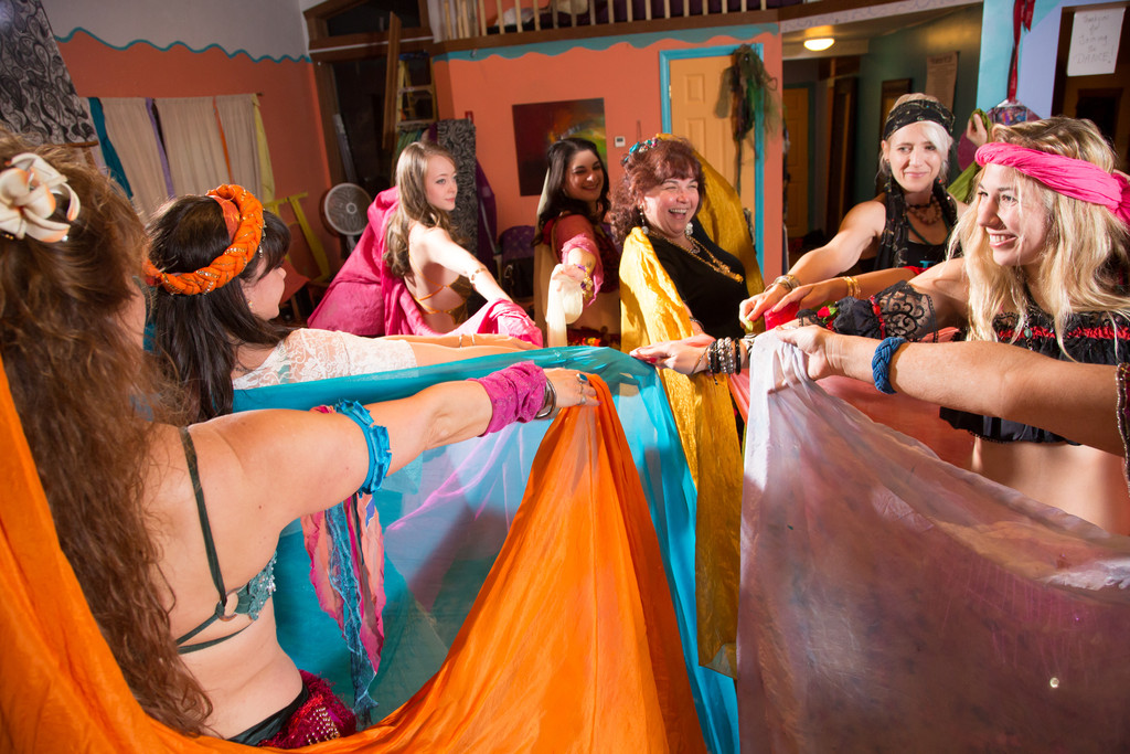 Take a belly dancing class in Tiverton at The Dancing Spirit Studio