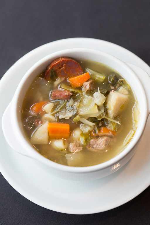 Warm up with a bowl of Portuguese Kale Soup from Caldeiras