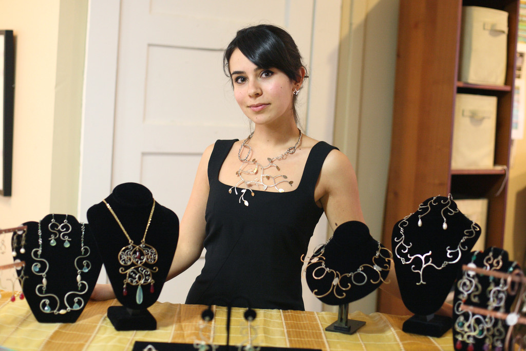Dora Szekely makes globally-minded jewelry