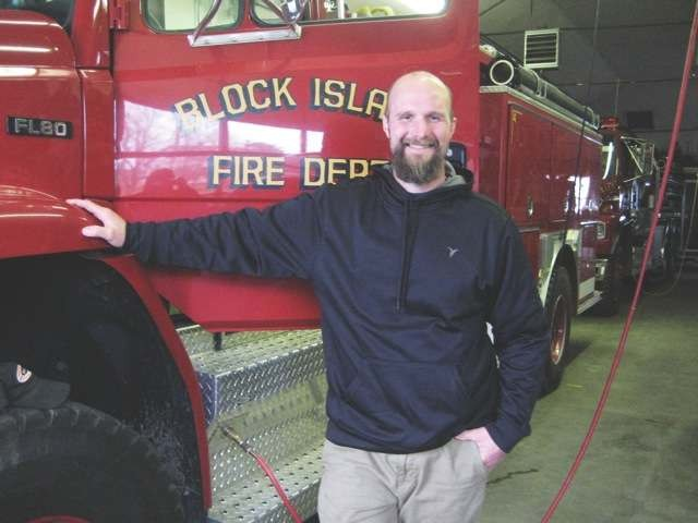 Tristan Payne, Block Island Volunteer Fire Department