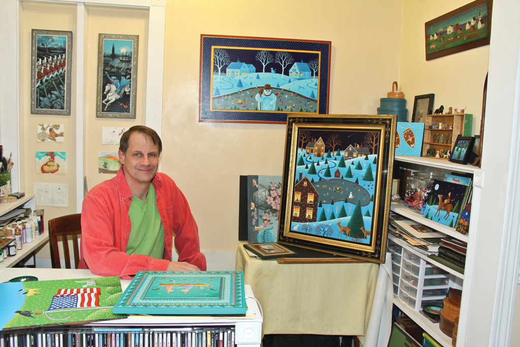 Don Cadoret's work has hung in the White House