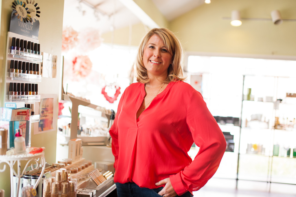 Abby Backlund of Facing Thayer Beauty Spa