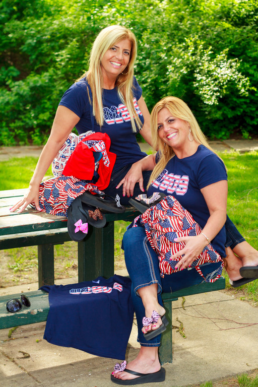 Owners of Flippity Funwear, Donna Wilson and Maria Doherty