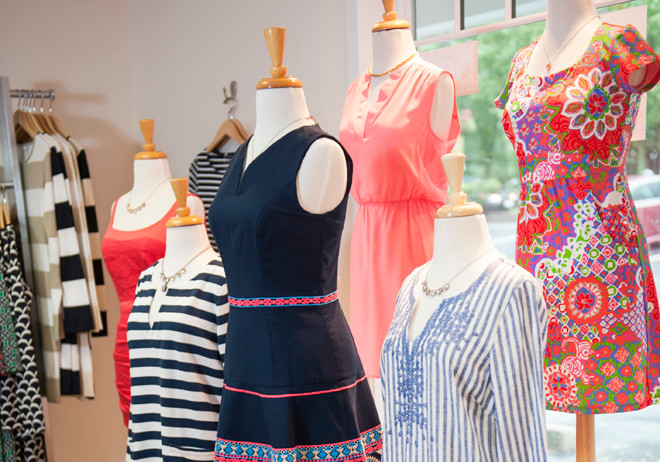 Dresses and patterns galore at Zuzu's Petals in Barrington