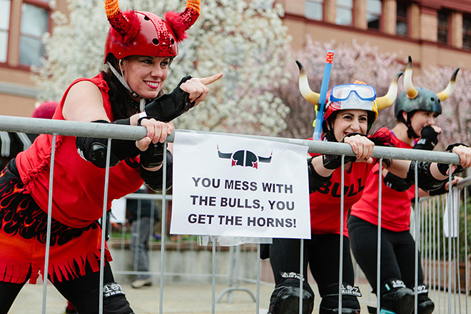 Get Gored for Good with the ladies of Providence Roller Derby.