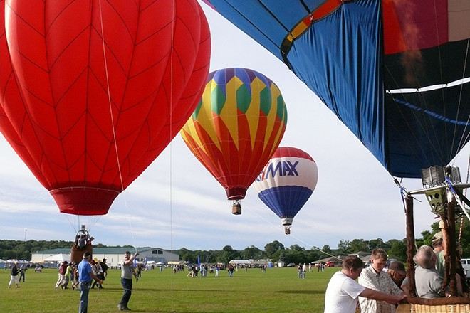 South County's Hot Air Balloon Festival is an annual favorite.