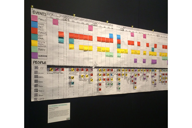 The art of planning–a glimpse at what goes into planning a massive arts festival.