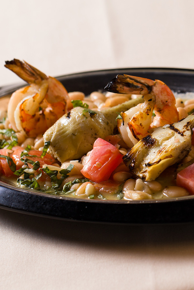 Shrimp and Artichoke Hearts