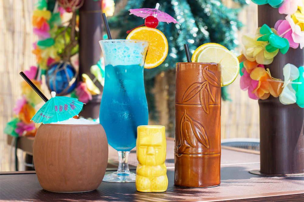 Tiki drinks are making a splash at Ogie's Trailer Park
