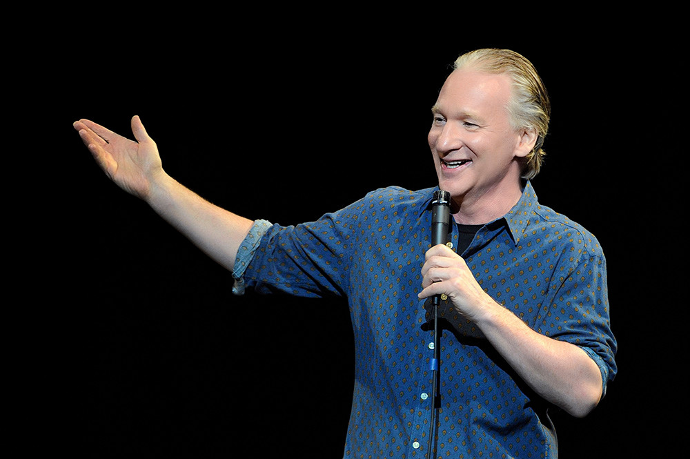 Bill Maher performs at PPAC this weekend