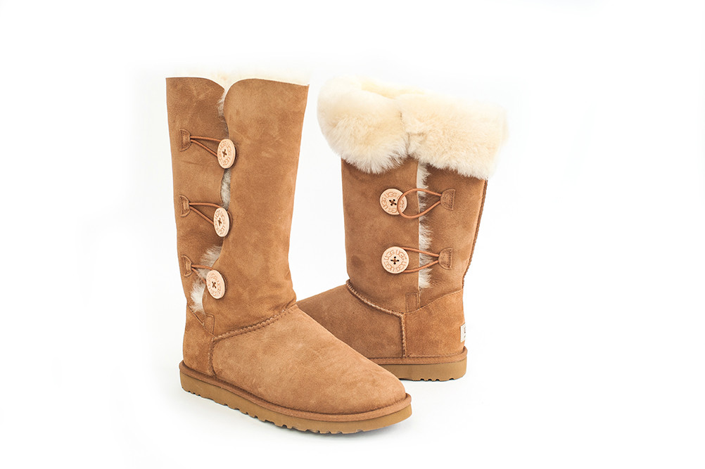 Cozy Comfort – Bailey Button UGG boots: $220 at Feet First