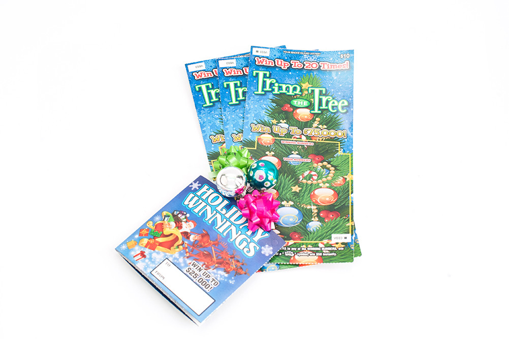 Great Stocking Stuffers – Holiday Instant Tickets starting at just $1 from Your Rhode Island Lottery