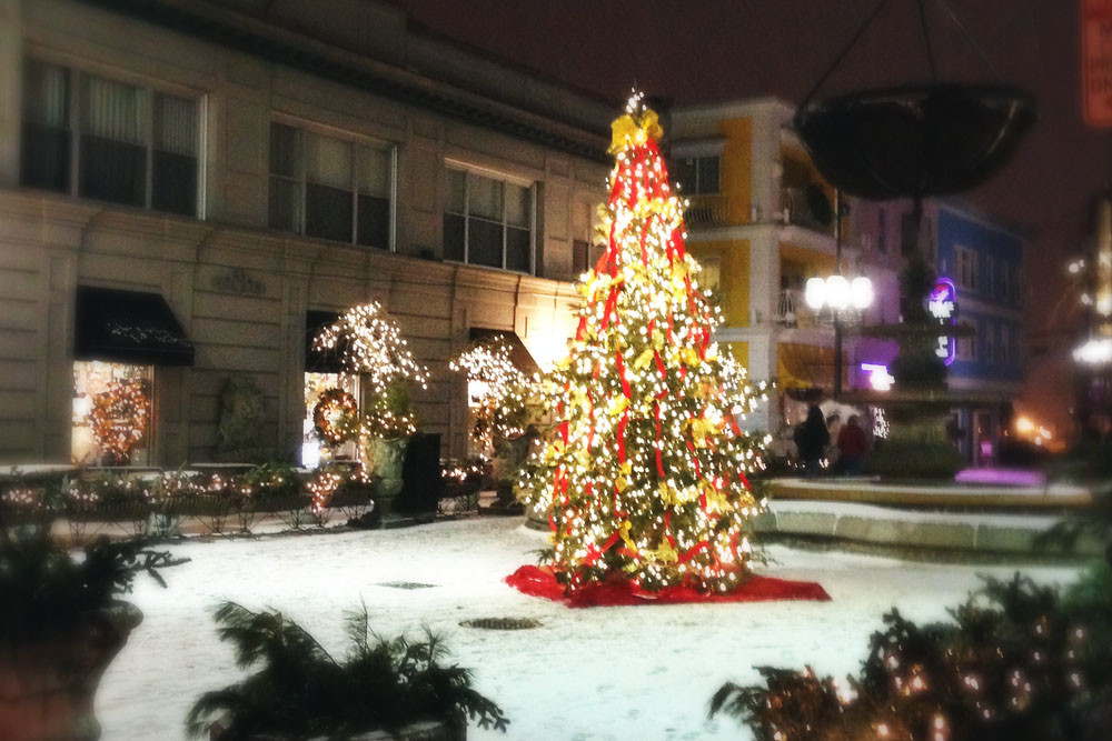 Federal Hill gets extra festive during the holidays