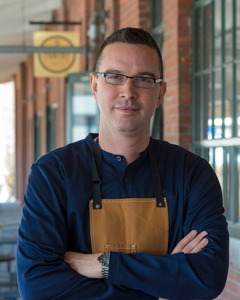 Owner and chef Nick Rabar of Avenue N