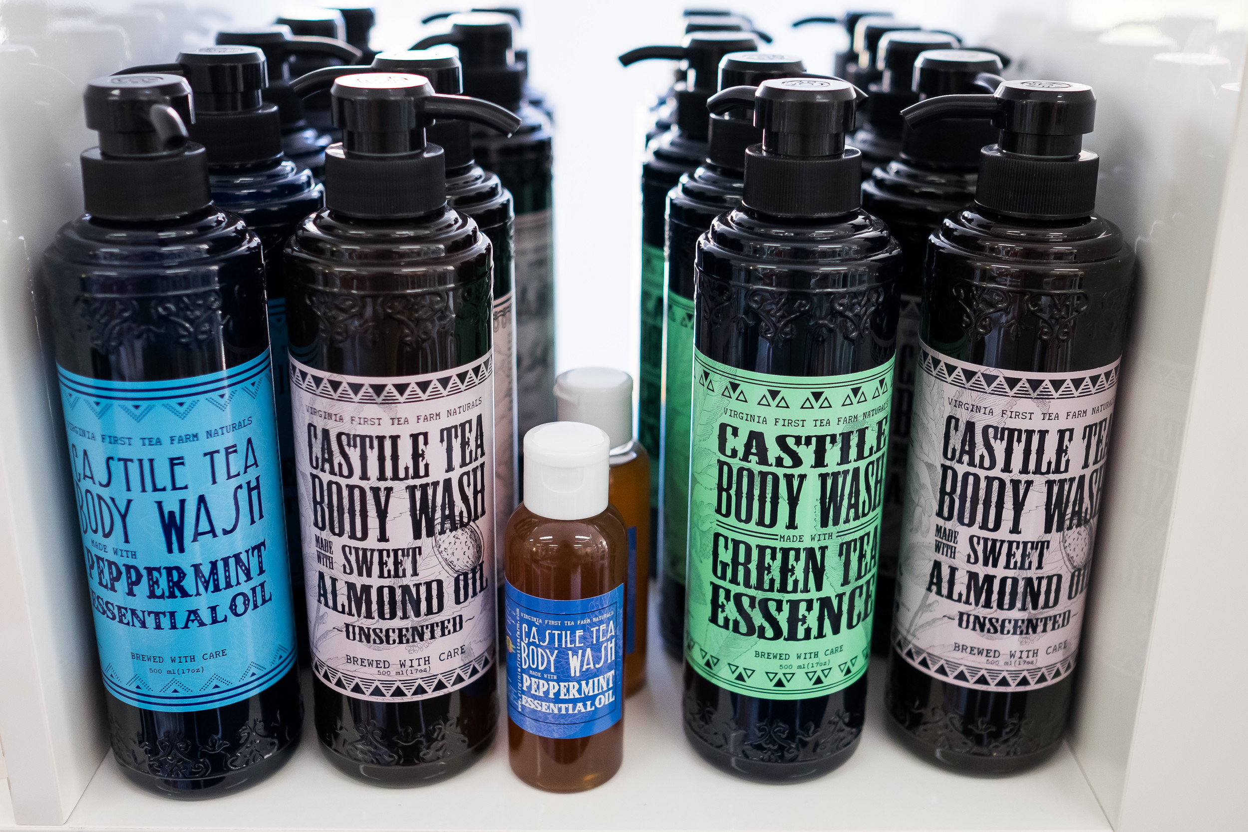 Tea-infused castille soap $16.95