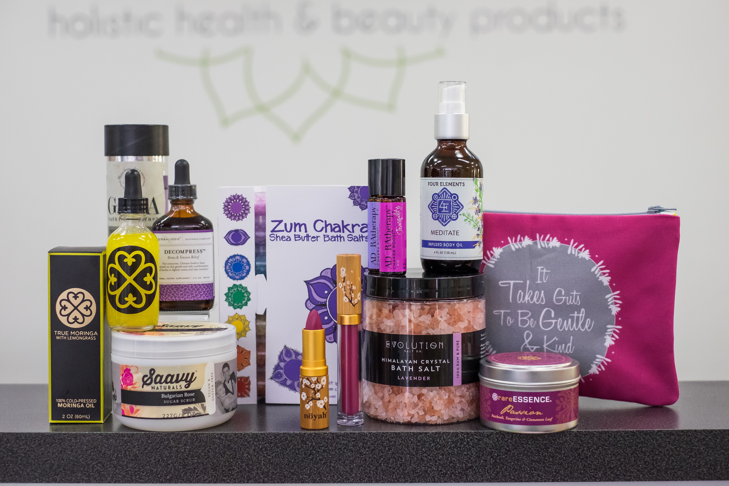Organic body oils, salts and scrubs $15.95-$39.95