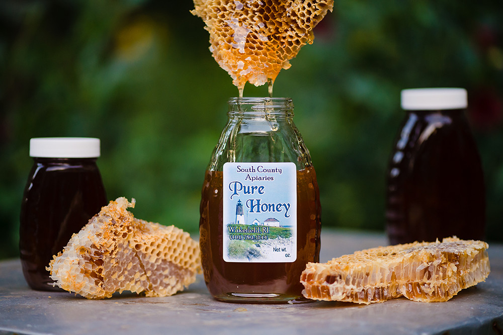 Daily intake of local honey can alleviate everything from seasonal allergies to burns.