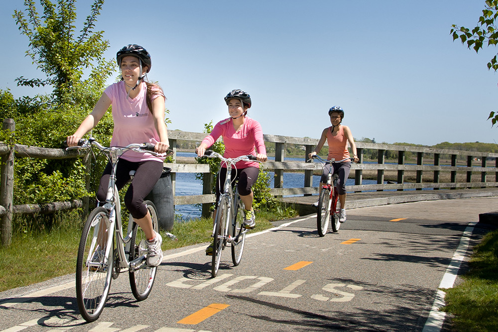 Motivate yourself to ride the whole East Bay Bike Path with the RI Bicycle Coalition
