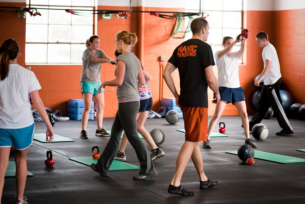 Manic Training in Wakefield offers intense full body workouts