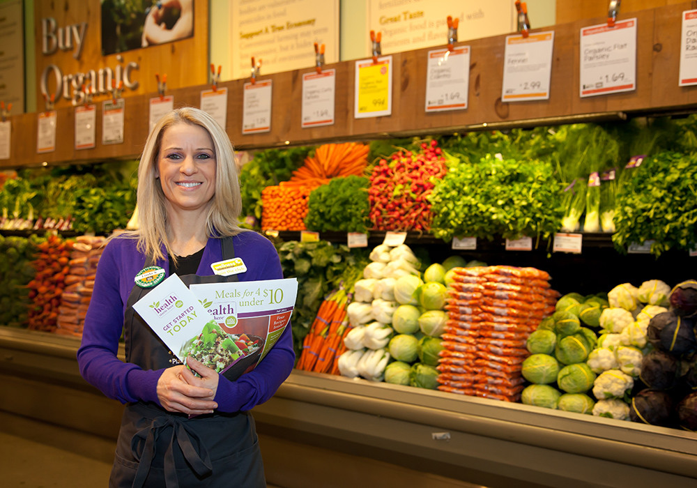 Whole Foods Healthy Eating Specialist Linda Nunes helps individuals craft personalized recipes