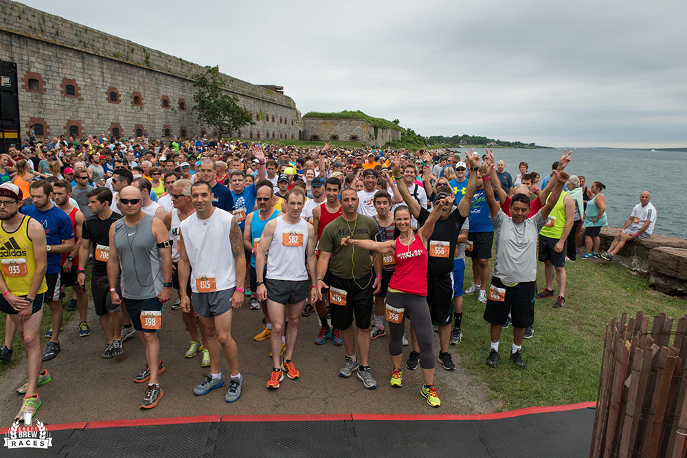 Beer and running? The Craft Beer 5k in Newport's got it.