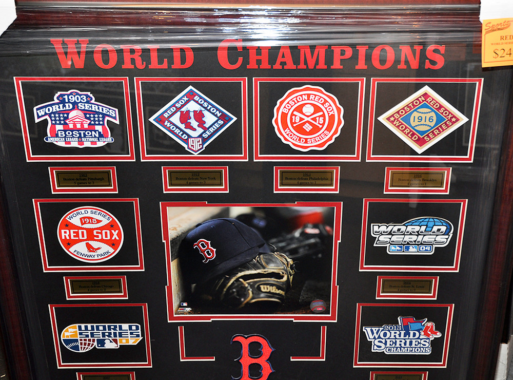 Red Sox World Series Commemorative Poster $249.95