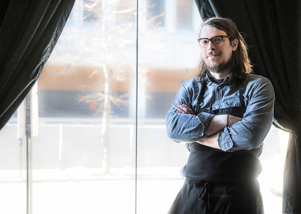 Chef Michael Lingwall of Faust