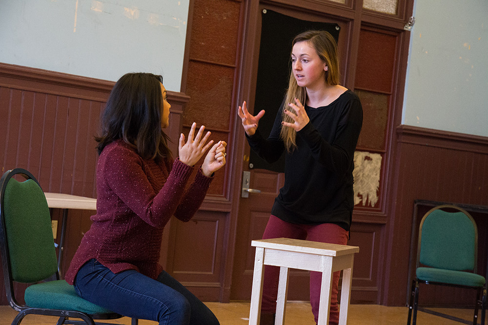 Gamm students get the opportunity to hone their skills in acting, writing and directing.