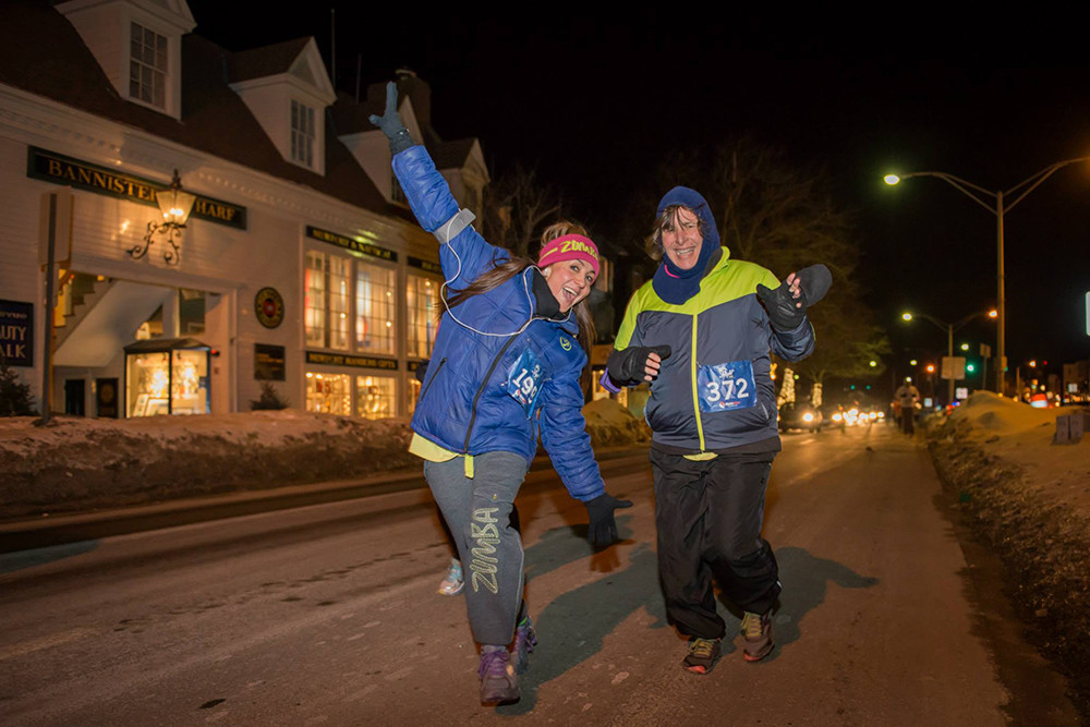 A later date ensures that this year's Newport Night Run won't require so many layers.