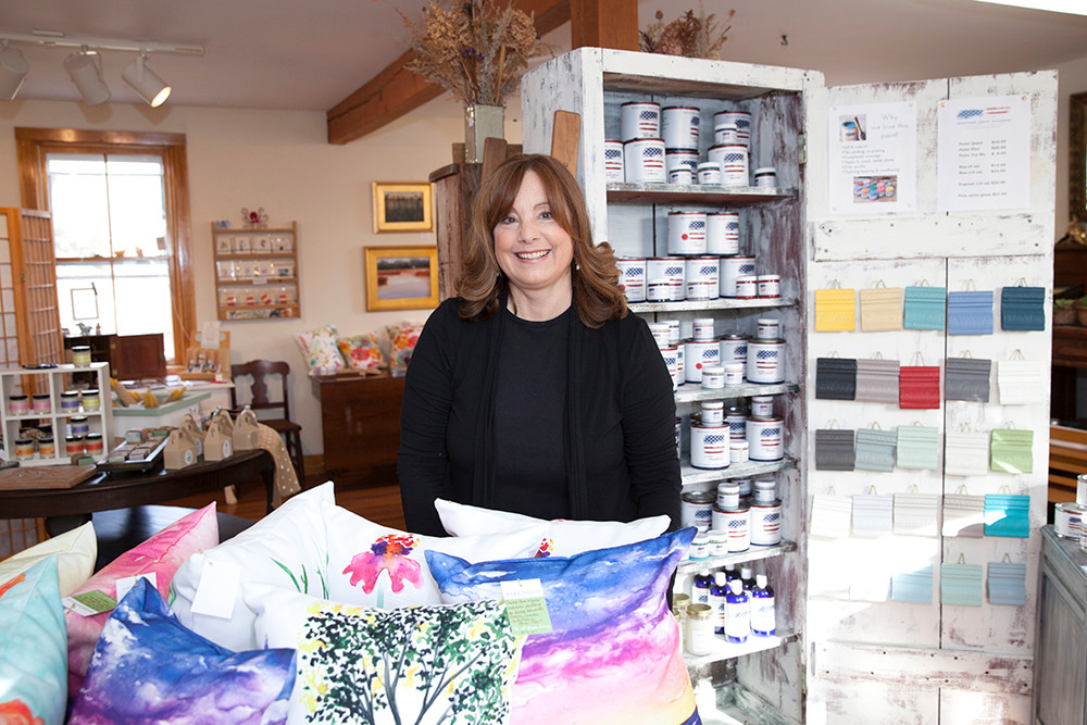 Michelle Jalbert, owner of Barksfield in Tiverton