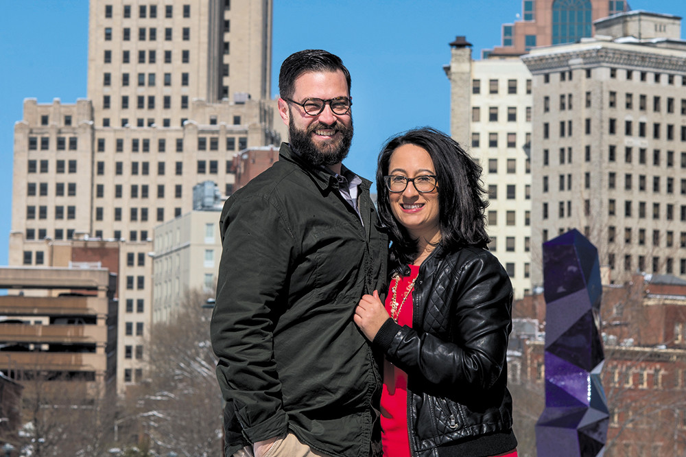 """It's the same kind of indie, artistic, higher education focused city [as Austin]. I see that growth for Providence."" –Angie and Chris Cunico"
