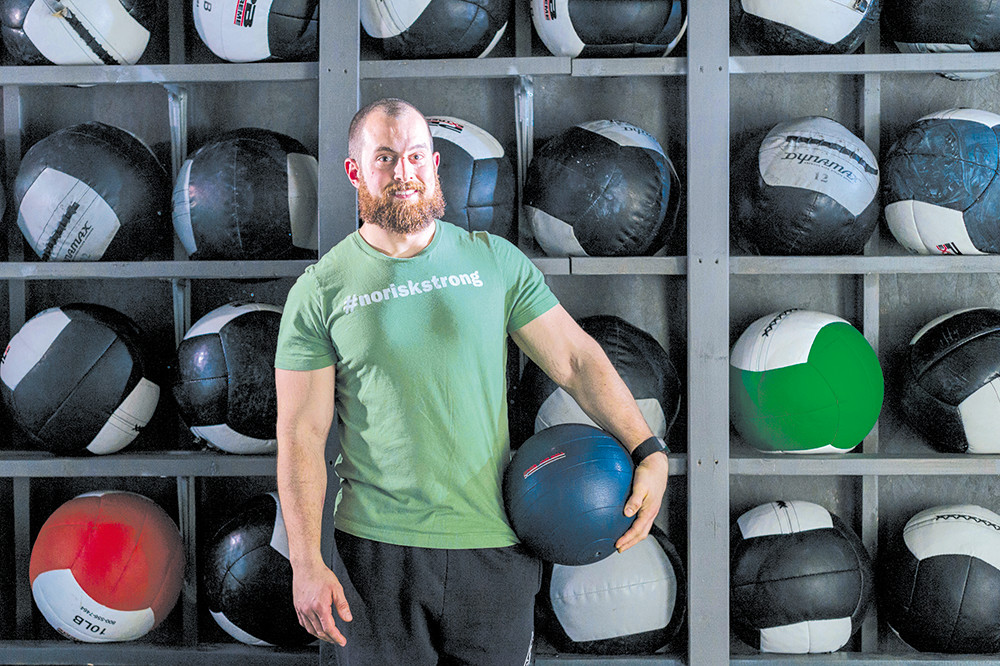 Dr. Nathan Charpentier is a personal trainer as well as a nutritionist
