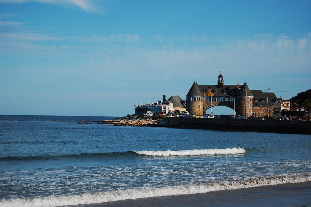 The iconic Narragansett Towers