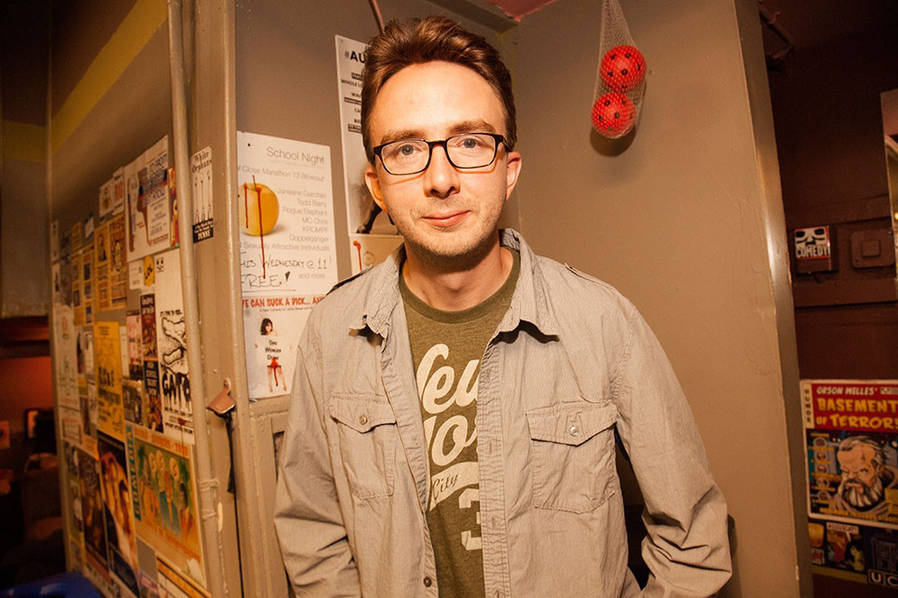 See local and national comics like Joe List from October 6-9 at the Rogue Island Comedy Festival