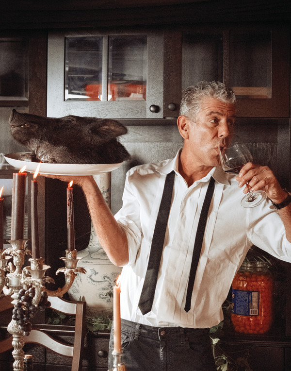 "Anthony Bourdain is coming to Foxwoods on October 8 for his ""The Hunger"" tour."