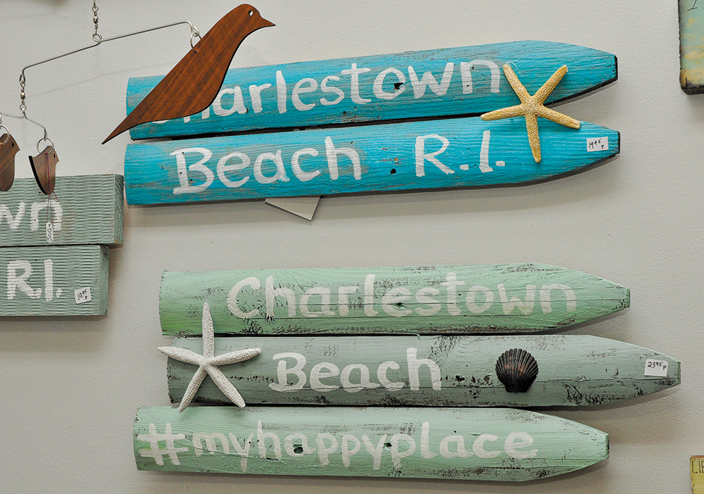 Handpainted signs, $19.95-$23.95