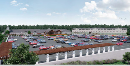 A rendering of the proposed casino