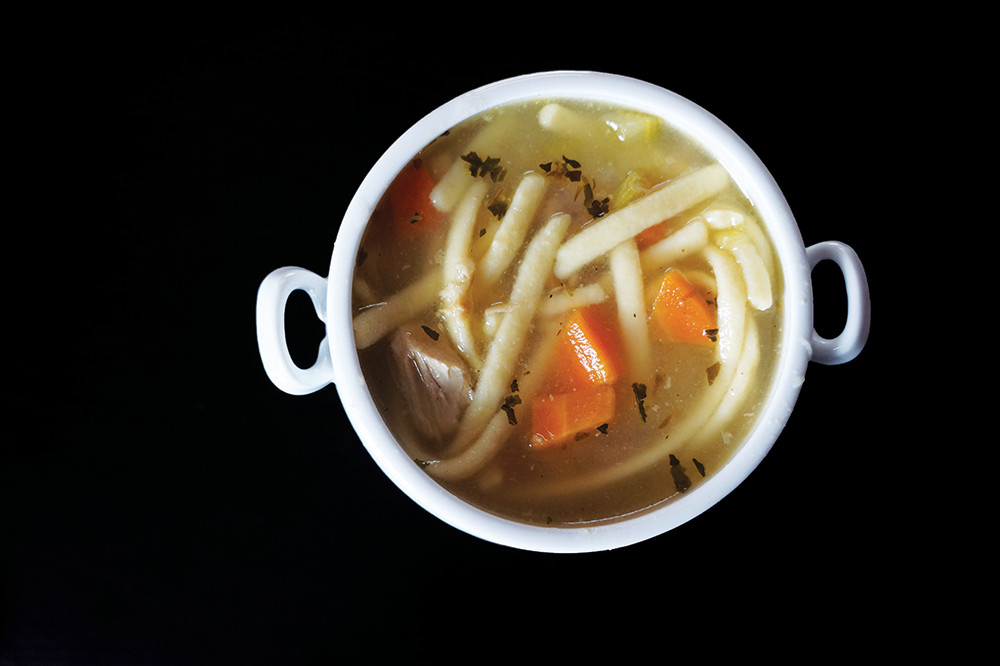 It's not too often Turkey Noodle Soup is on the menu, but we were pleasantly surprised by the version from Brick Oven Restaurant of Ashaway. It was full of nice big pieces of al dente noodles, a rich broth and savory pieces of turkey. 209 Main Street, Ashaway. 377-2230.