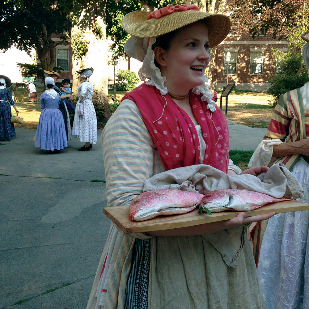 If you've ever wondered what was on the menu in 1777 Newport, Colonial Food For Thought: A Newport Eats Living History has the answer