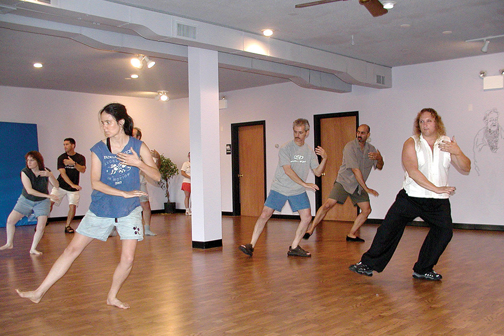 Internal Arts in Hope Artiste Village teaches Tai Chi as a way to redirect the body's energy – or send a body to the floor