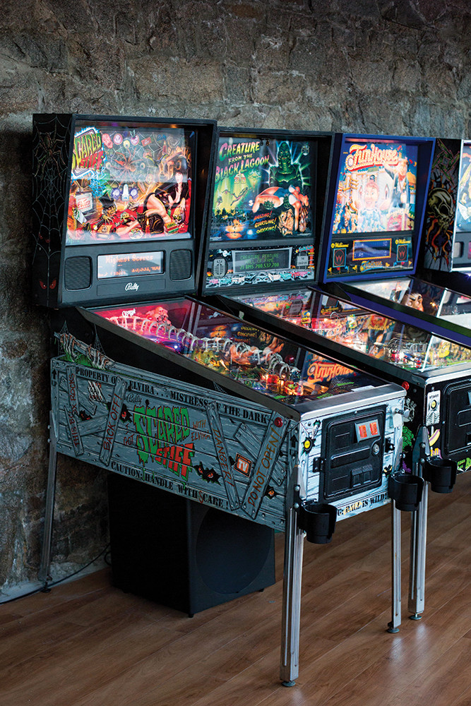 Flip Side in Westerly is a high scoring combination of classic pinball and local brews