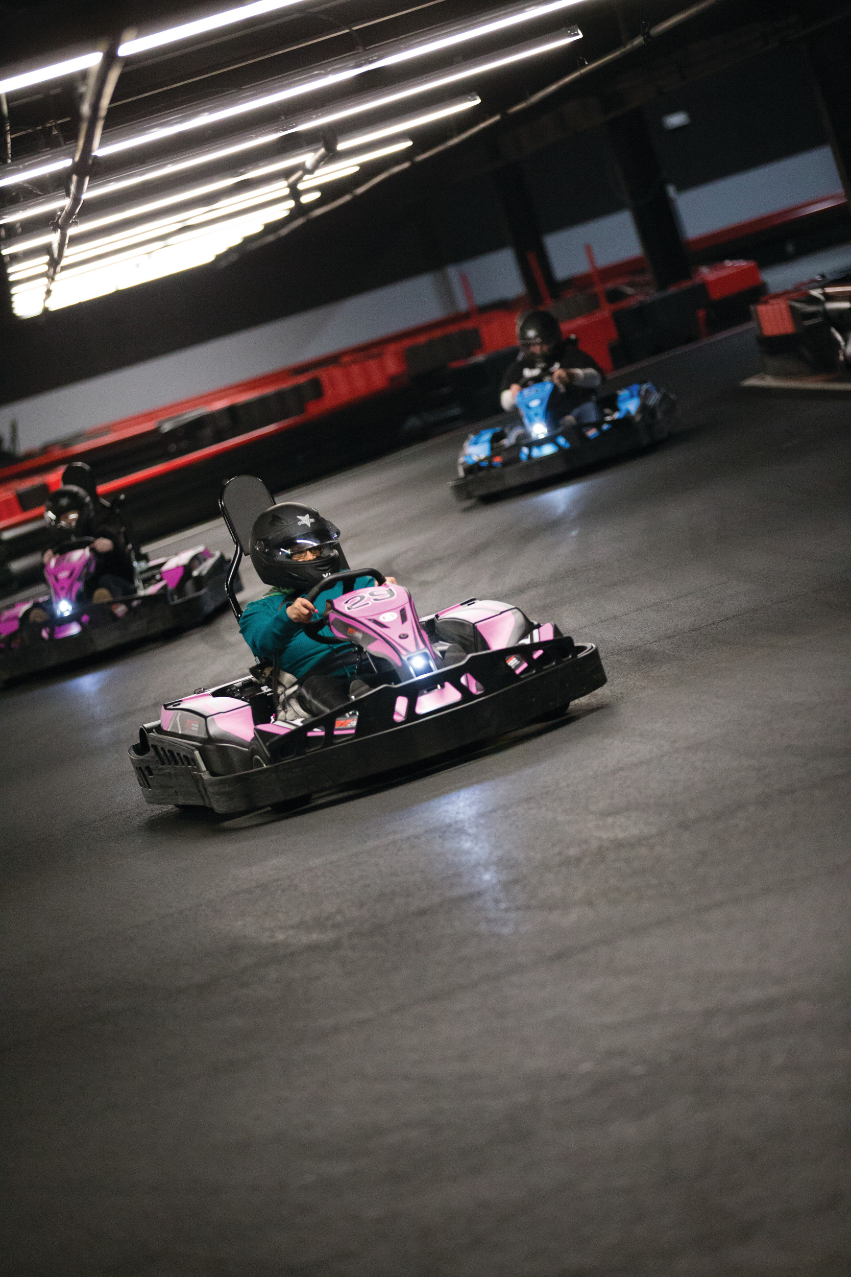 Start your engines and race for glory at R1 Indoor Karting