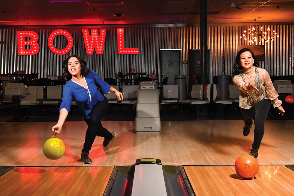 Roll into game night at Lang's Bowlarama