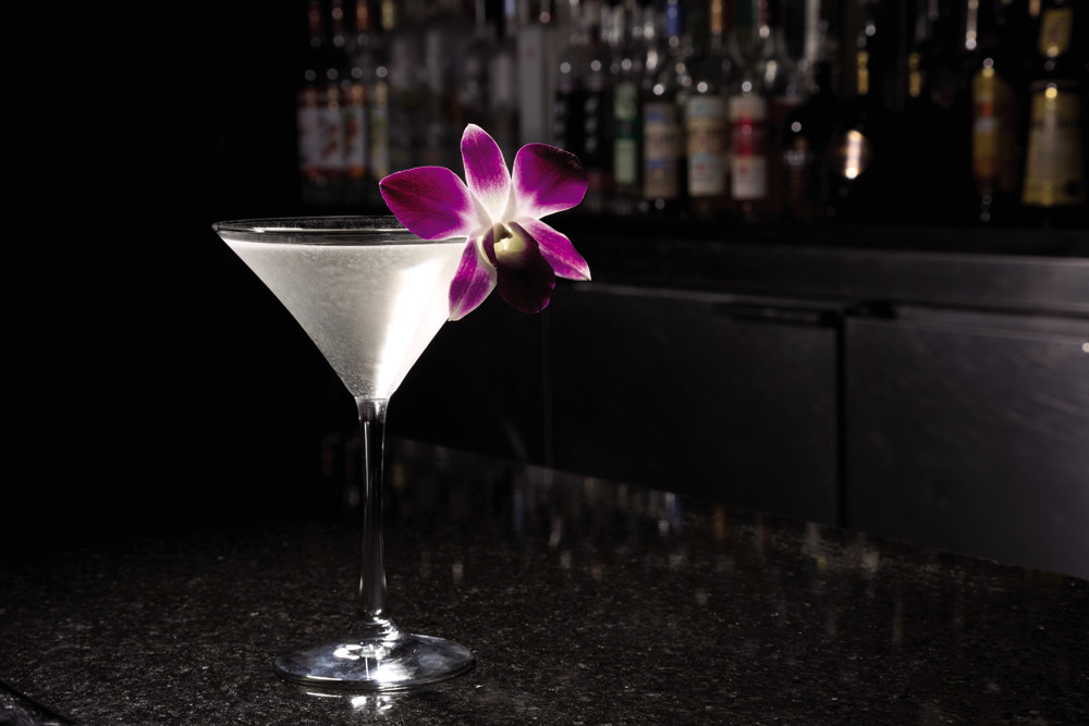 Shaken or stirred? Either way, Ten's Pear Martini is a classic late-winter cocktail