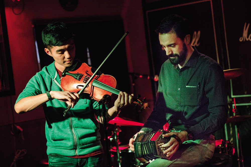 The Vox Hunters keep folk traditions - and shanties - alive at pub sings throughout the month