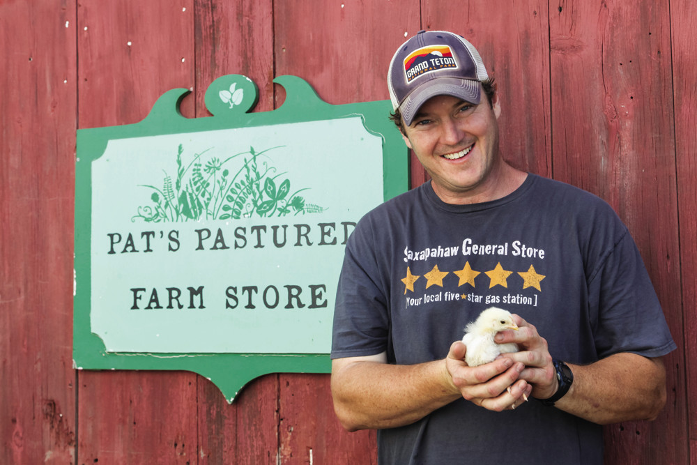 Pats Pastured's bone broth will keep your homemade chicken soup extra local