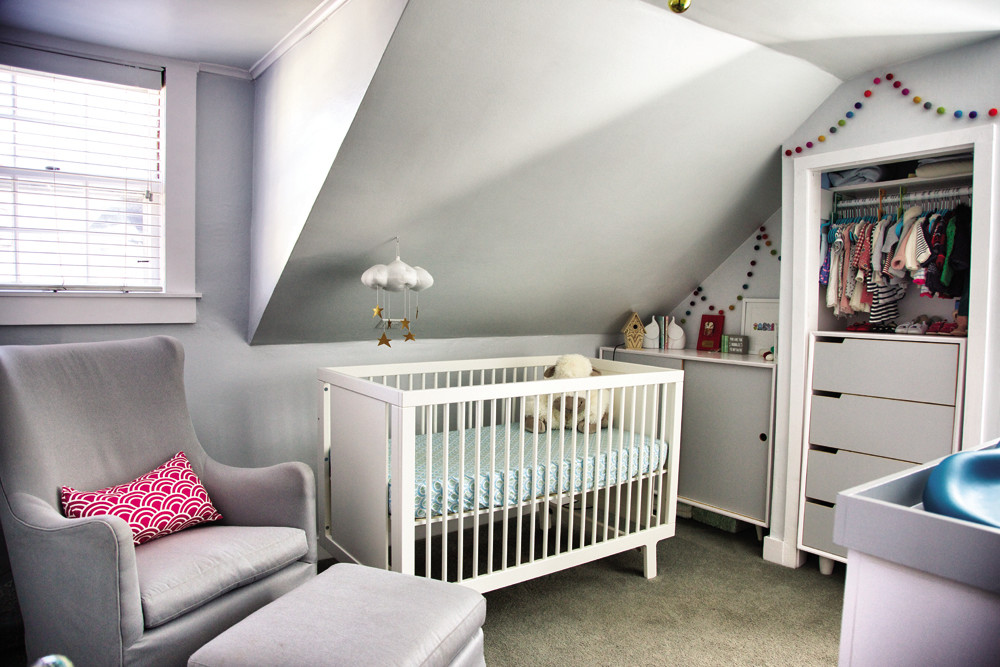 The Hearn family has grown by one, making the upstairs nursery a wonderful addition